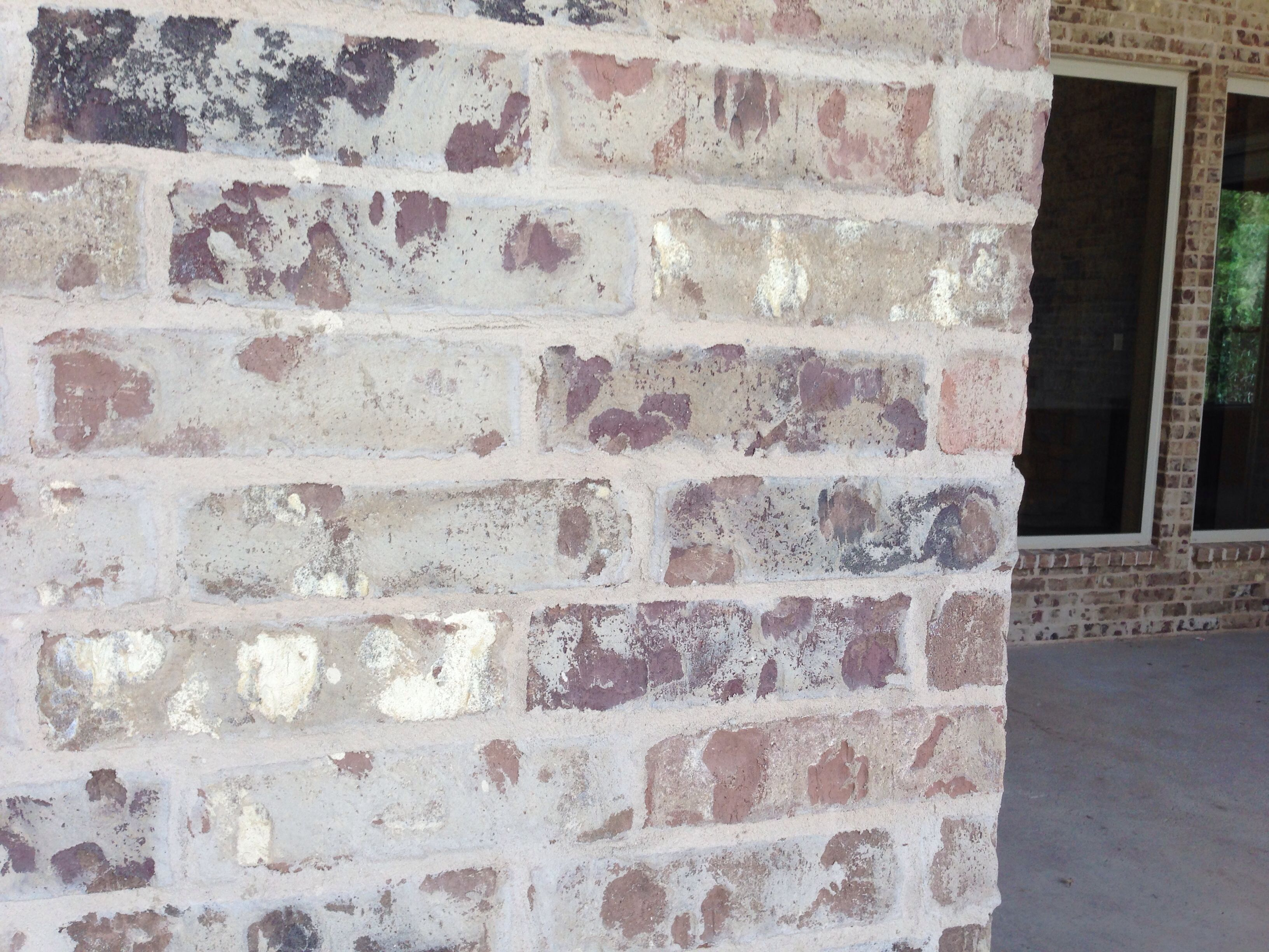 mortar over brick - to update old brick | new house decorating
