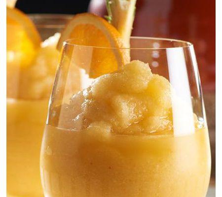 Orange mango fro drink