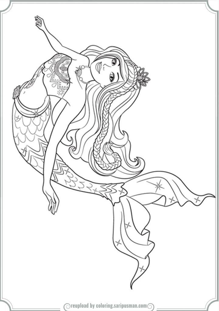 Barbie Mermaid Tale 2 Coloring Pages Barbie Coloring Dolphin Coloring Pages Mermaid Coloring Book