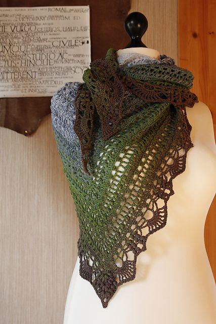 Ravelry Schal Quiraing Pattern By Silvia Bangert Chusty