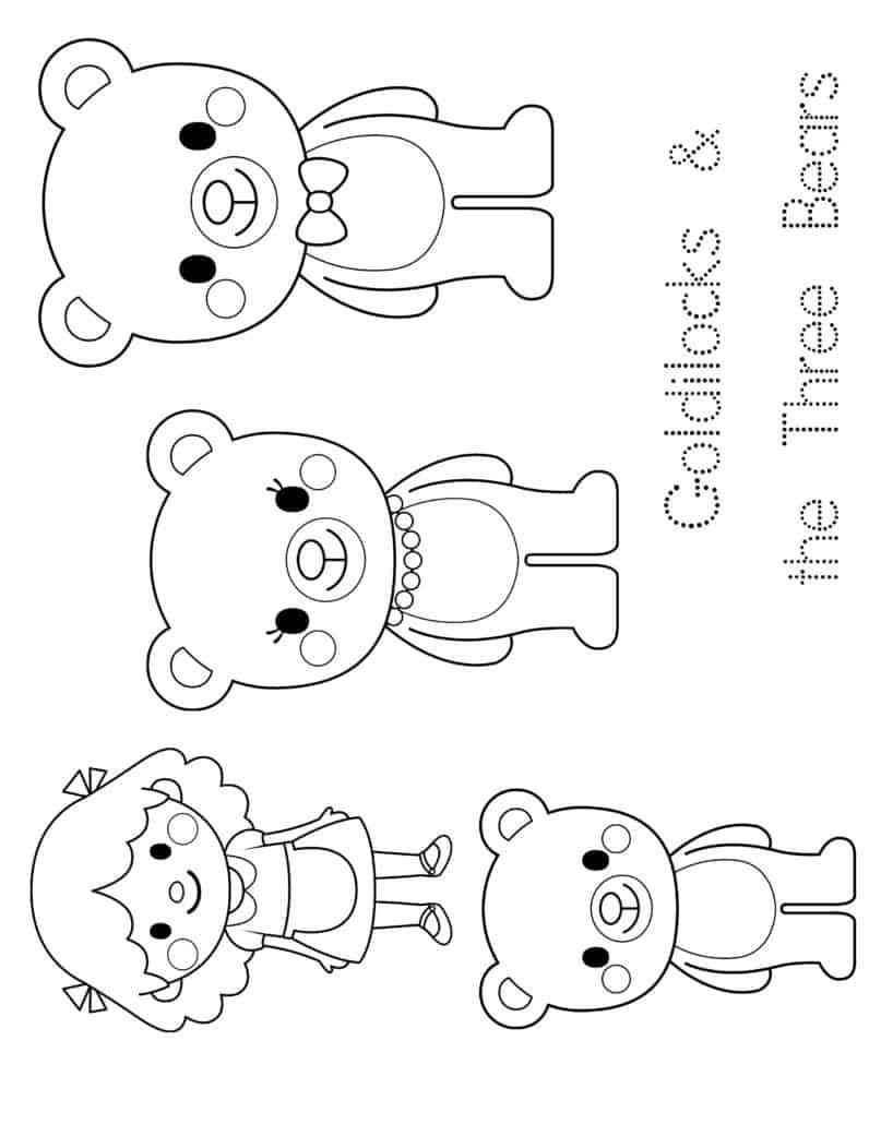 Preschool Enchantment Unit Study Week 3 Goldilocks Bear Activities Preschool Goldilocks And The Three Bears Bears Preschool