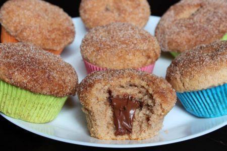 Nutella-Zimt-Muffins