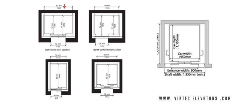 freight elevator diagram