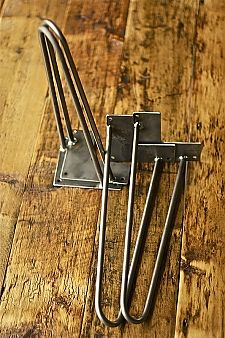 4 Hairpin Leg Floor Protectors Hair Pin Ships from OHIO Set of 4 Four