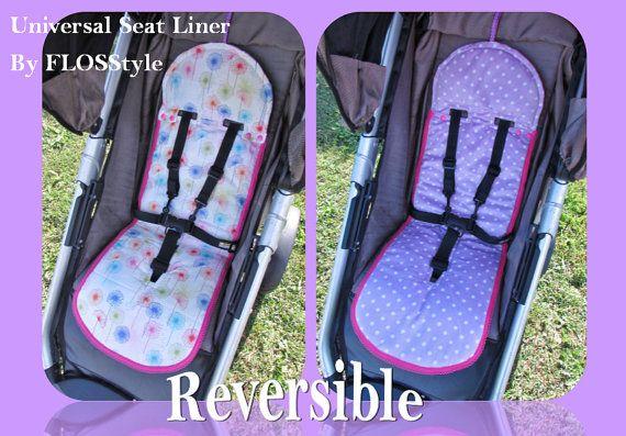 Universal Fit Seat Liner Pattern Pram Stroller With