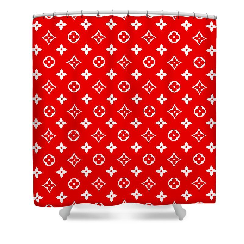 Lv Red Art Shower Curtain For Sale By Vppdgryphon In 2020