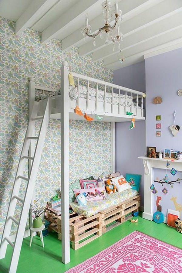 Moderne Ikea KinderbettDeco Betten Hochbett Diy Kinder Kinderzimmer Madchen Bett Ideen