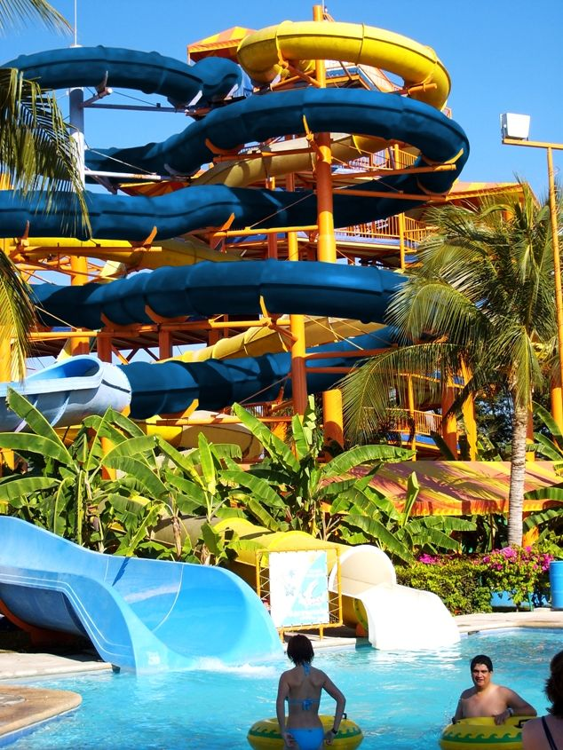 Nuevo Vallarta Water Park in Mexico's Riviera Nayarit    Conveniently located just minutes from the Nuevo Vallarta hotel zone, this great water park serves up action, adventure, entertainment and laid back relaxation all in one visit.
