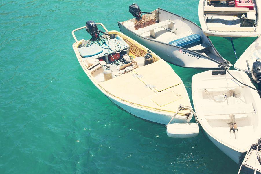 Catalina boats by catherine mcdonald on catalina island