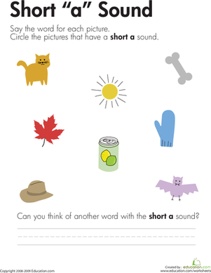 Number Names Worksheets short vowel sound worksheets for first grade : 1000+ images about short vowels on Pinterest