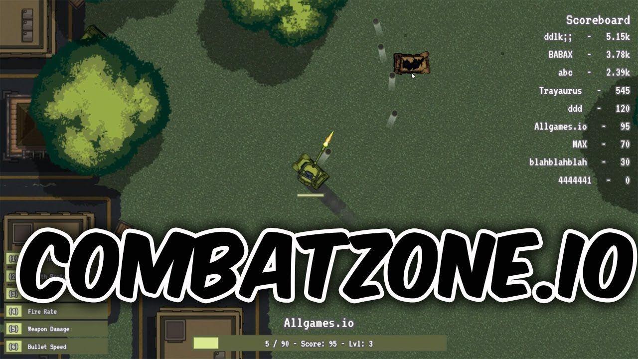 COMBATZONE.io Combat Zone io & New Game News games
