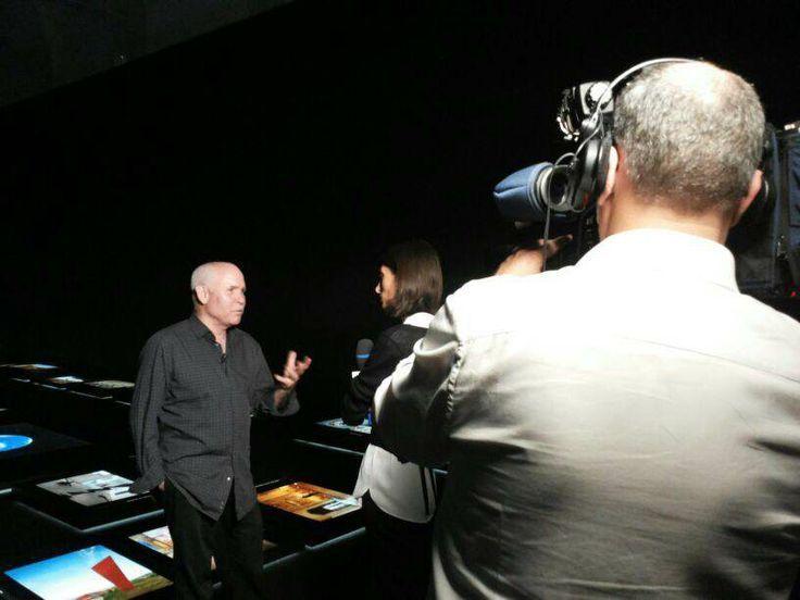 Steve McCurry interviewed by TG1 #McCurry #SensationalUmbria #SU14 #Perugia #mostra #Fotografia #Photography #exhibition #Umbria
