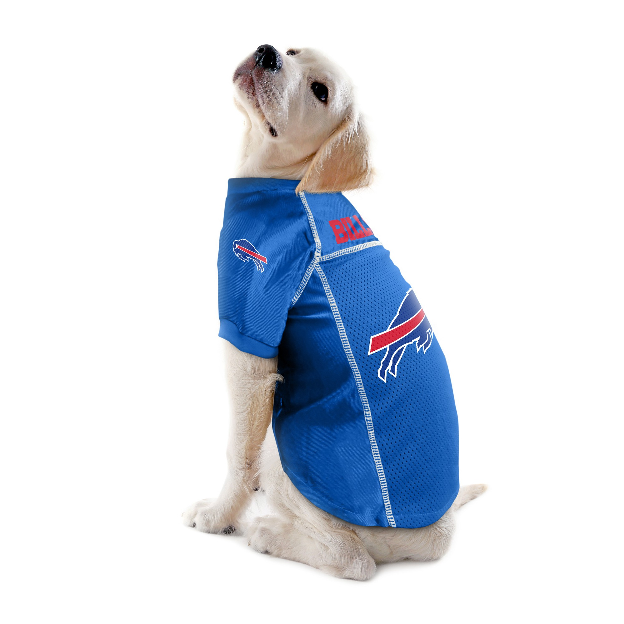 Buffalo Bills Little Earth Pet Football Jersey Blue Xs