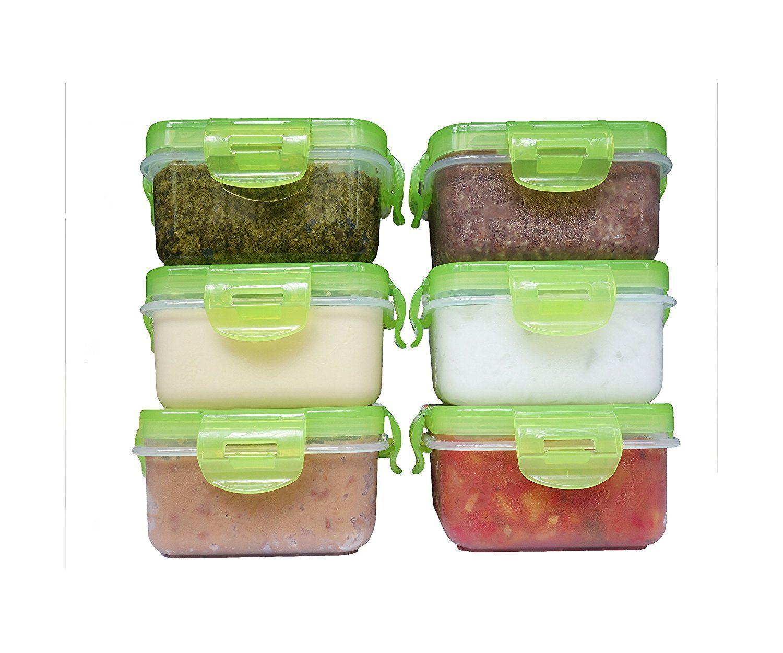 elacra baby food storage bpa free