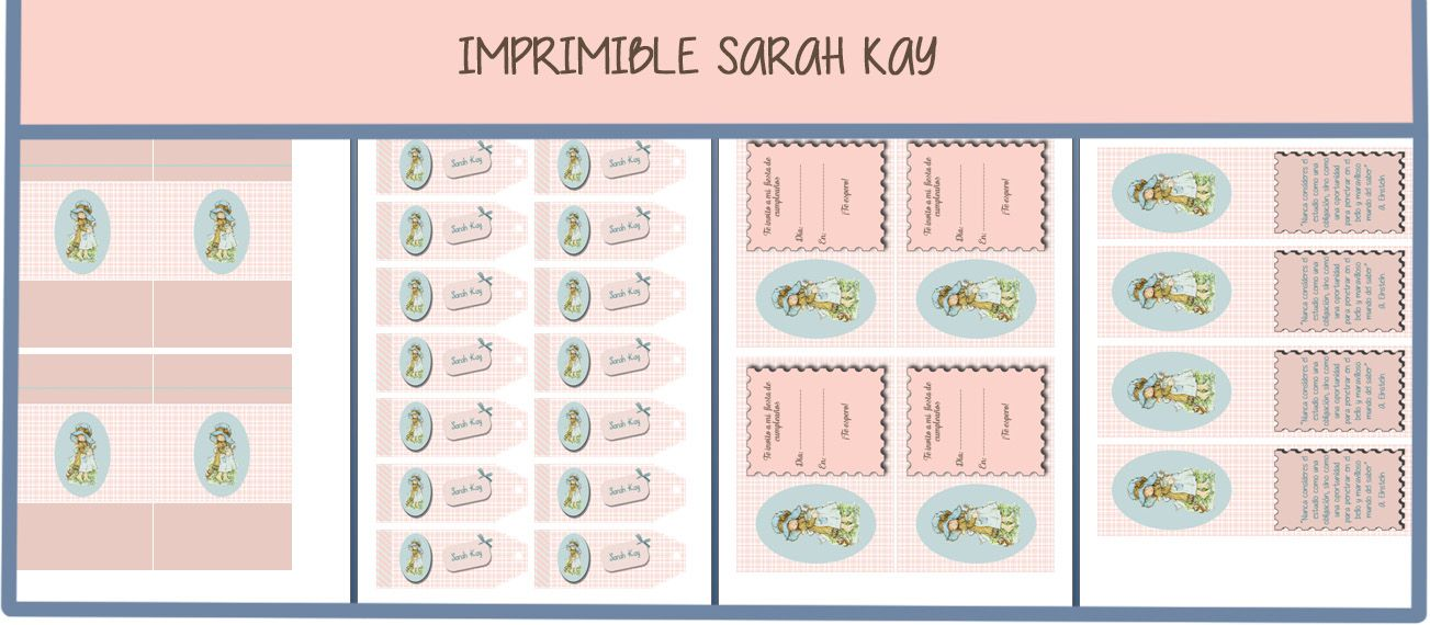 imprimible gratuito Sarah Kay | communion | Pinterest