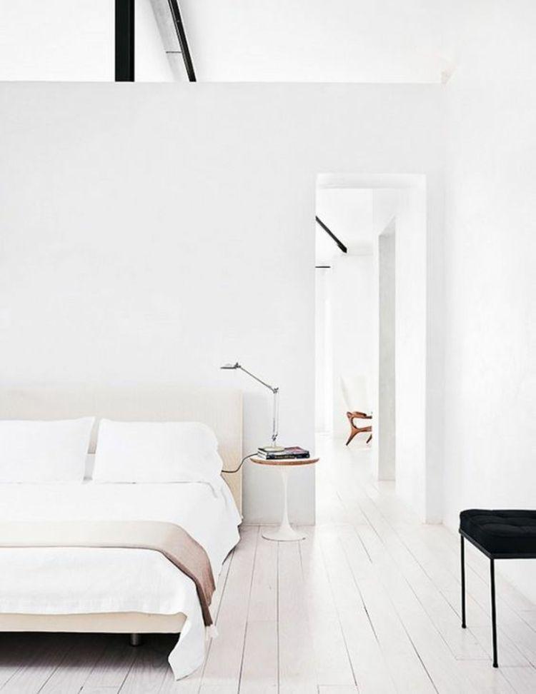 Feng Shui Schlafzimmer einrichten Farbe weiß Schlafzimmer Ideen