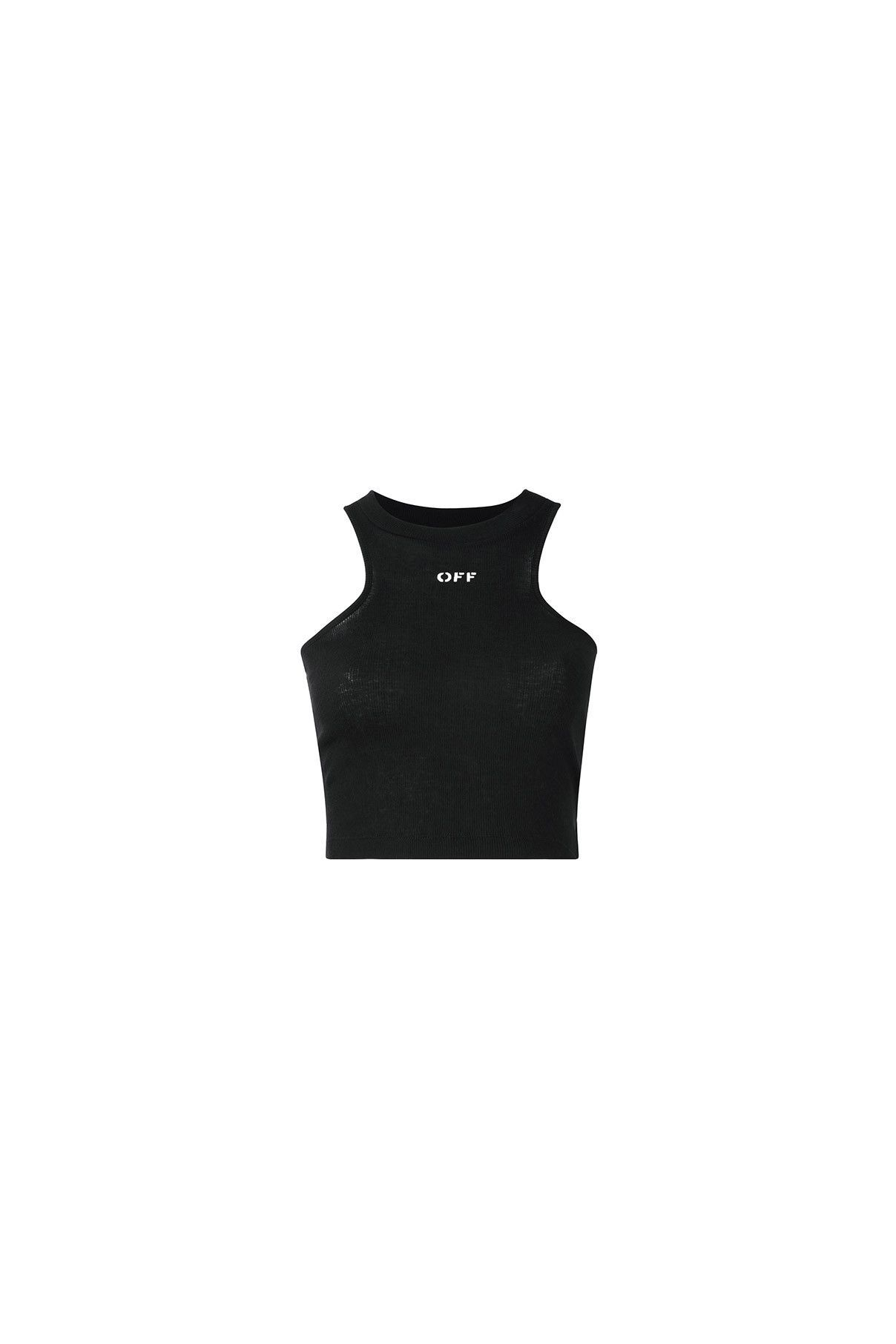 Off-White / 01 clothing / 04 knitwear / 02 tank top} Wife Beater ...