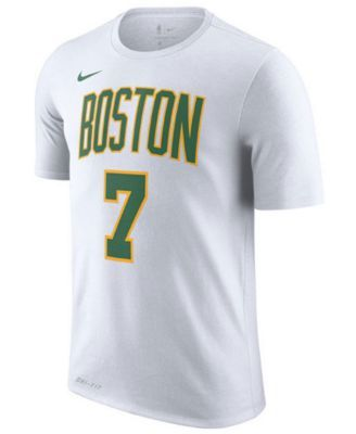 separation shoes e5180 db1fc Nike Men's Jaylen Brown Boston Celtics City Player T-Shirt ...