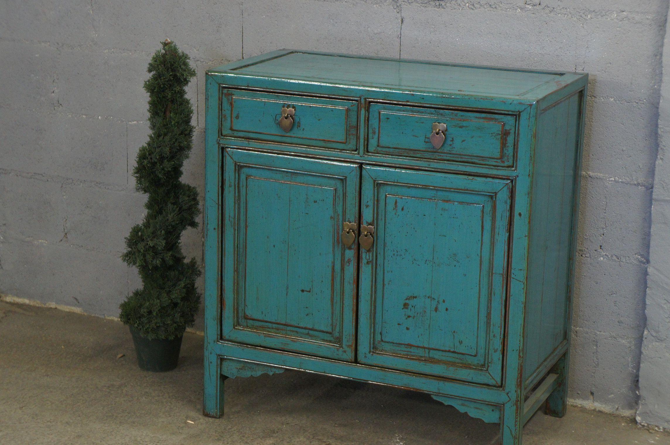 meuble bleu ancien restaur e et repatin e bleu meuble pinterest goodies. Black Bedroom Furniture Sets. Home Design Ideas