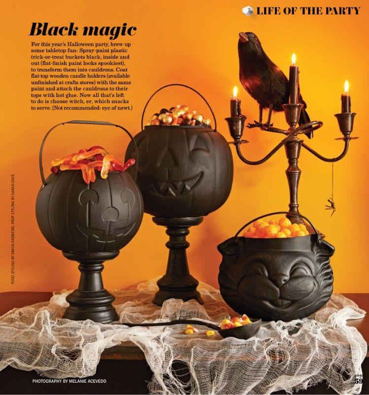 Halloween Home Decor Pinterest: The Year's Easiest Halloween Decorating Idea