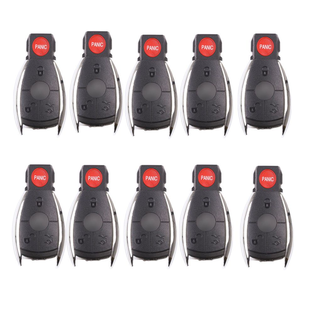 10 remote key shell case fit for mercedes benz 4 bts