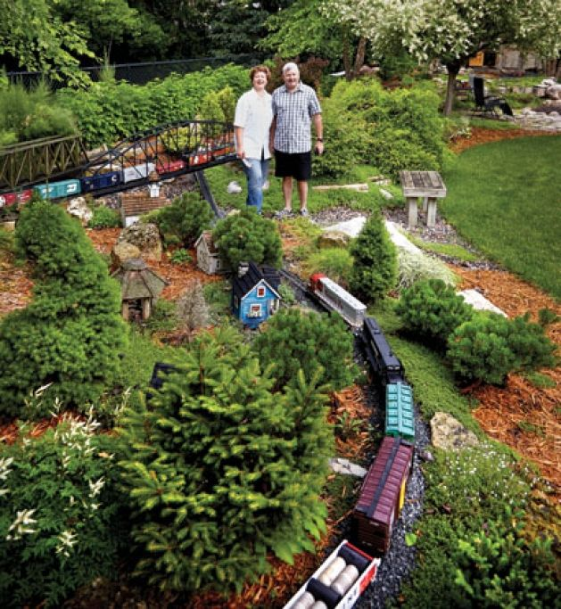 garden railways - Google Search | Garden railways | Pinterest