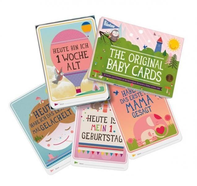 milestone baby cards deutsche version set einzeln. Black Bedroom Furniture Sets. Home Design Ideas