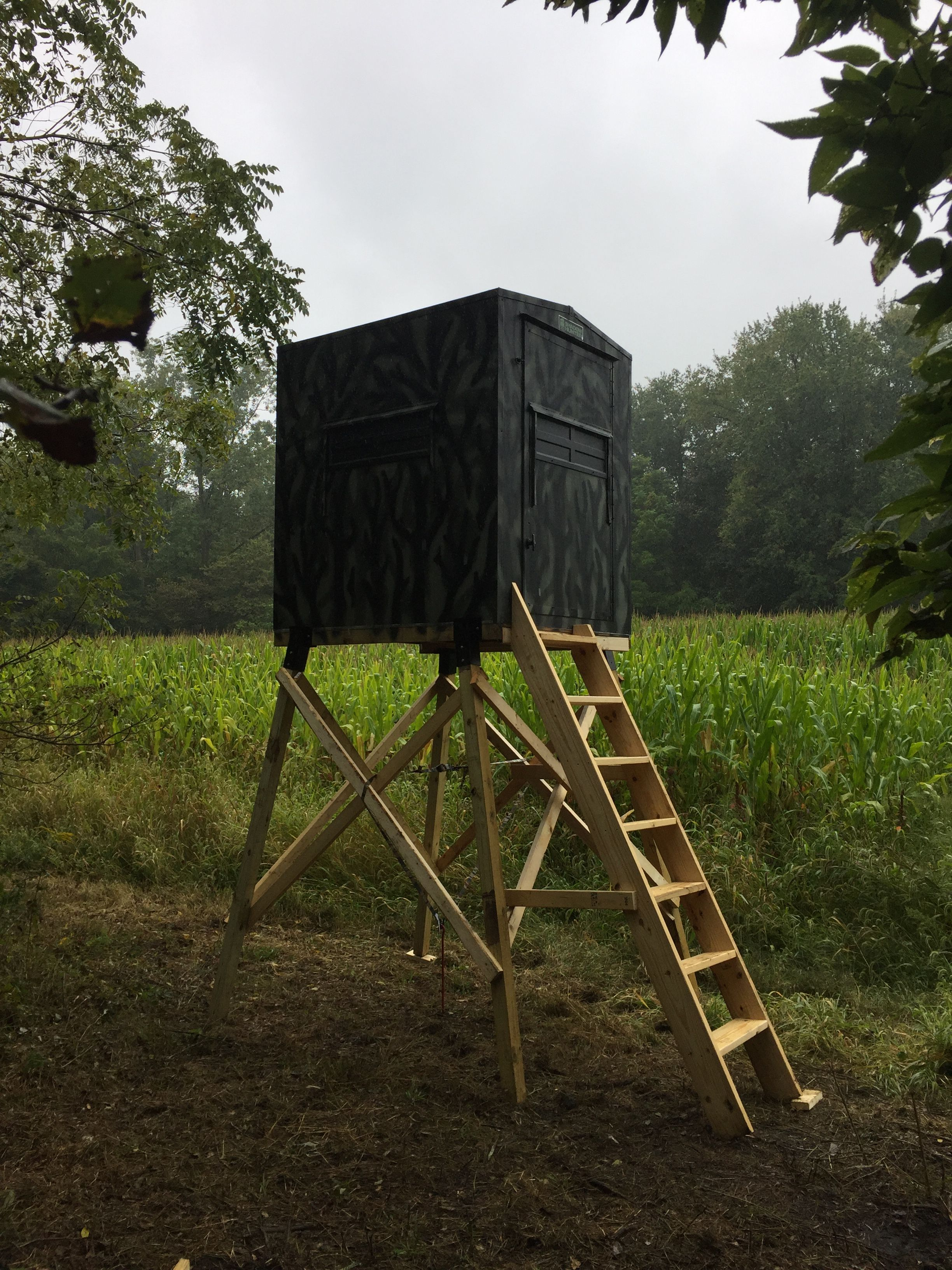 Shadow hunter blinds at Midwest Woodlots! | Whitetail outfitter