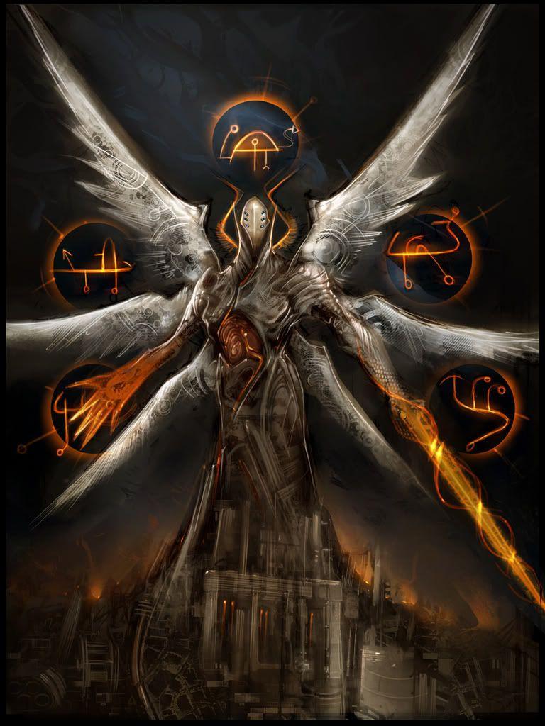 Demonic Angel:Rainor Ultimate Form   Dunkle phantasie ...