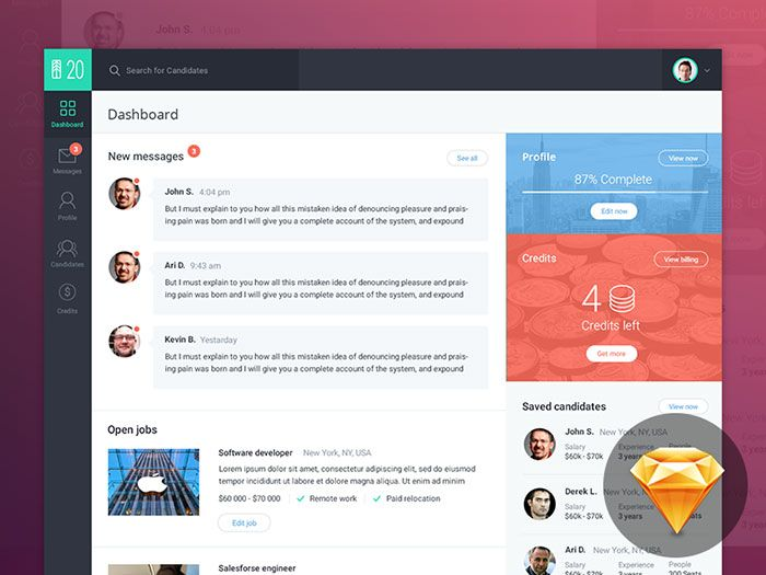 showcase of beautiful dashboard ui designs - Ui Design Ideas