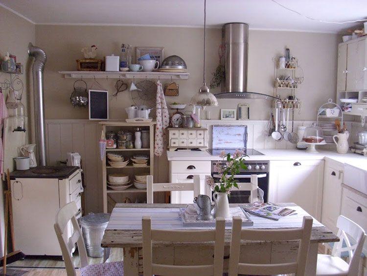 Cucina Shabby Chic 26 | Kitchens | Pinterest | Kitchens