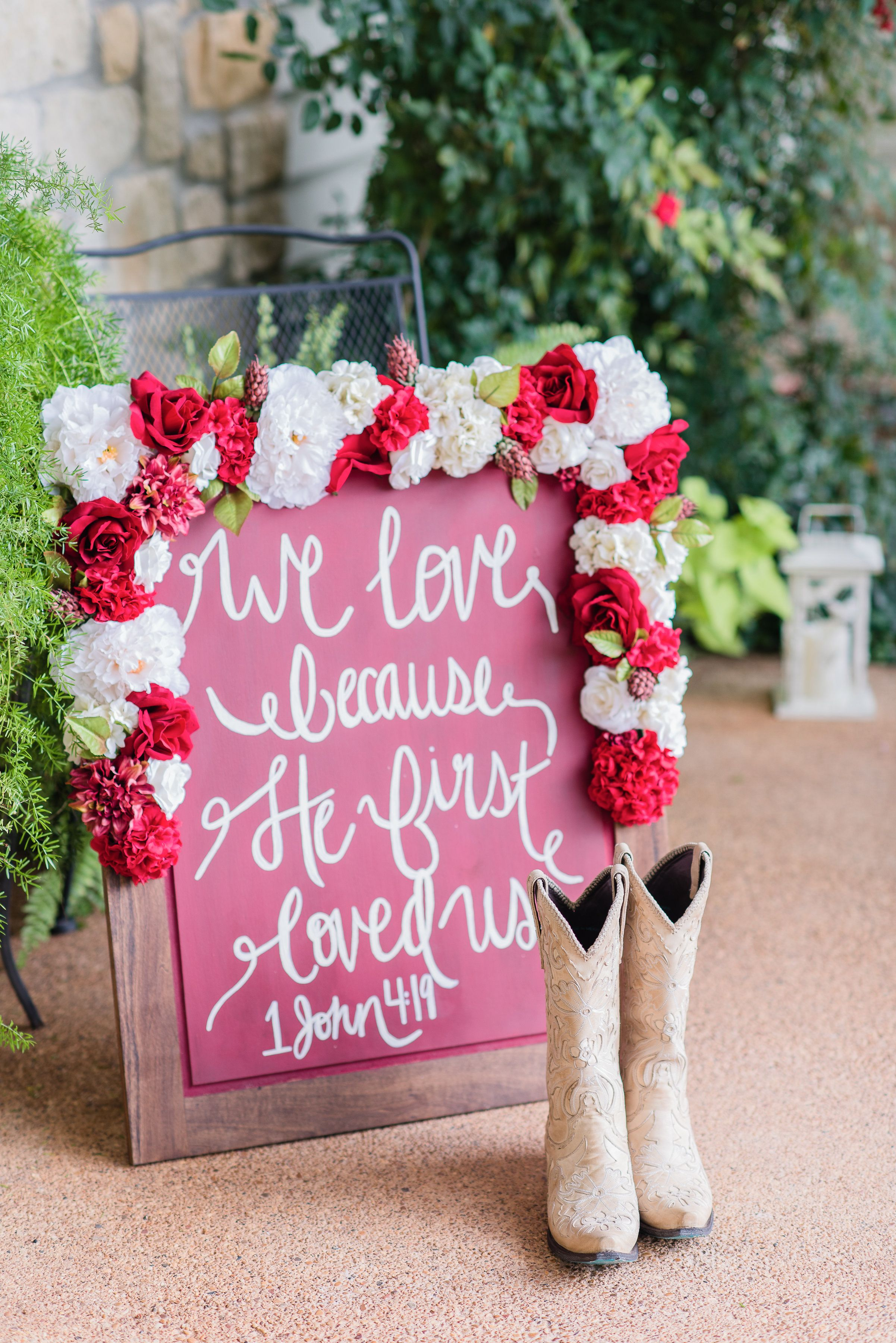 DIY Wedding Chalkboards at the Inn at Quarry Ridge in College ...