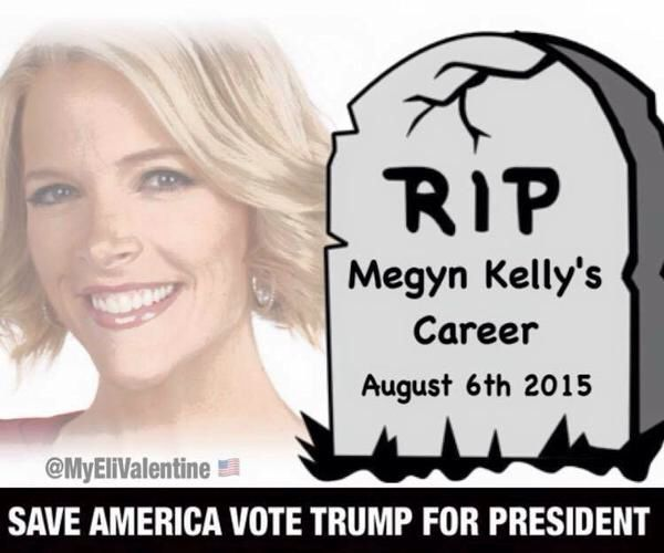 "Megyn Kelly & Fox News Just Lost My Respect Last Night ... You Committed Suicide By ""Death By Agenda"""