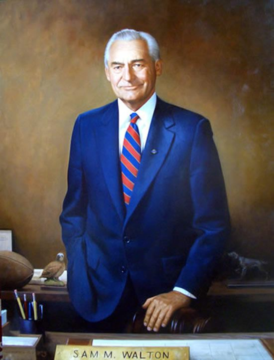 Sam Walton; Founder of Wal-Mart and Sam's Club & Brother of Alpha Kappa Psi