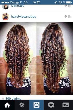 I Want Curly Hair Long Hair Perm Hair Hacks Pageant Hair