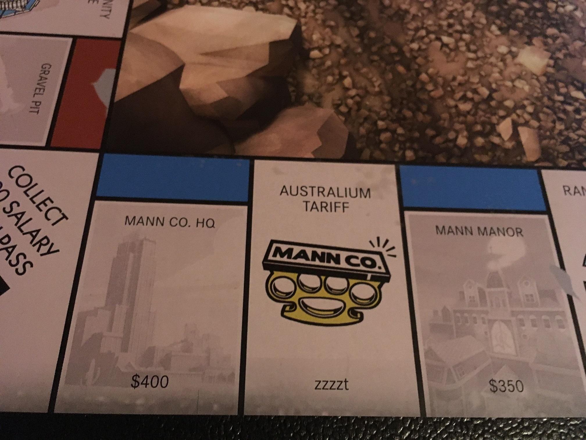 australium tariff tf2 monopoly misprint zzzzt games teamfortress2 steam tf2 steamnewrelease gaming valve [ 2016 x 1512 Pixel ]