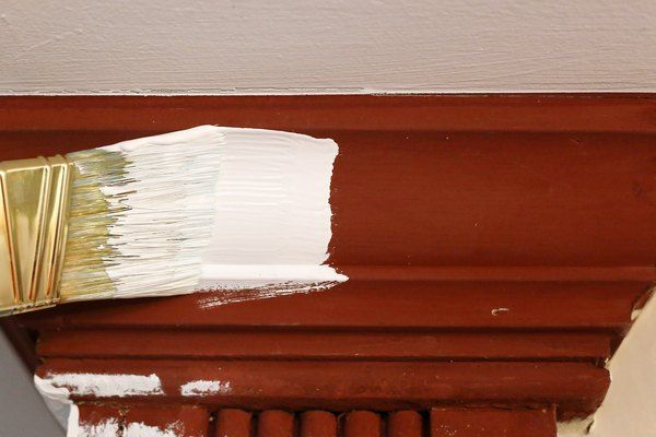 How to Paint Stained Wood Trim White | Hunker #stainedwood