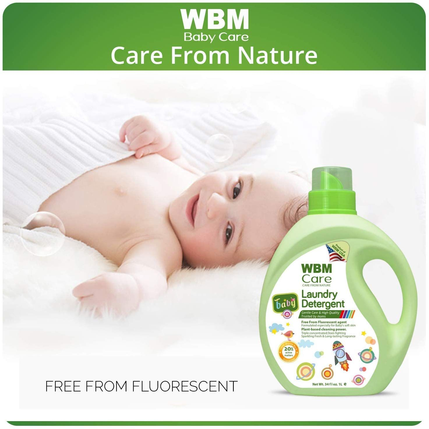 Worried About Your Baby S Laundry Detergent Wbm Care Baby