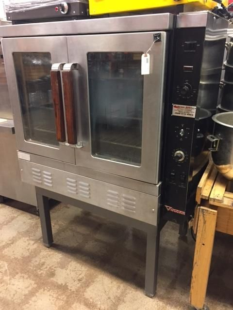 Vulcan Sg4D Commercial Single Deck Gas Convection Oven  Oven Gorgeous Used Kitchen Equipment Design Inspiration
