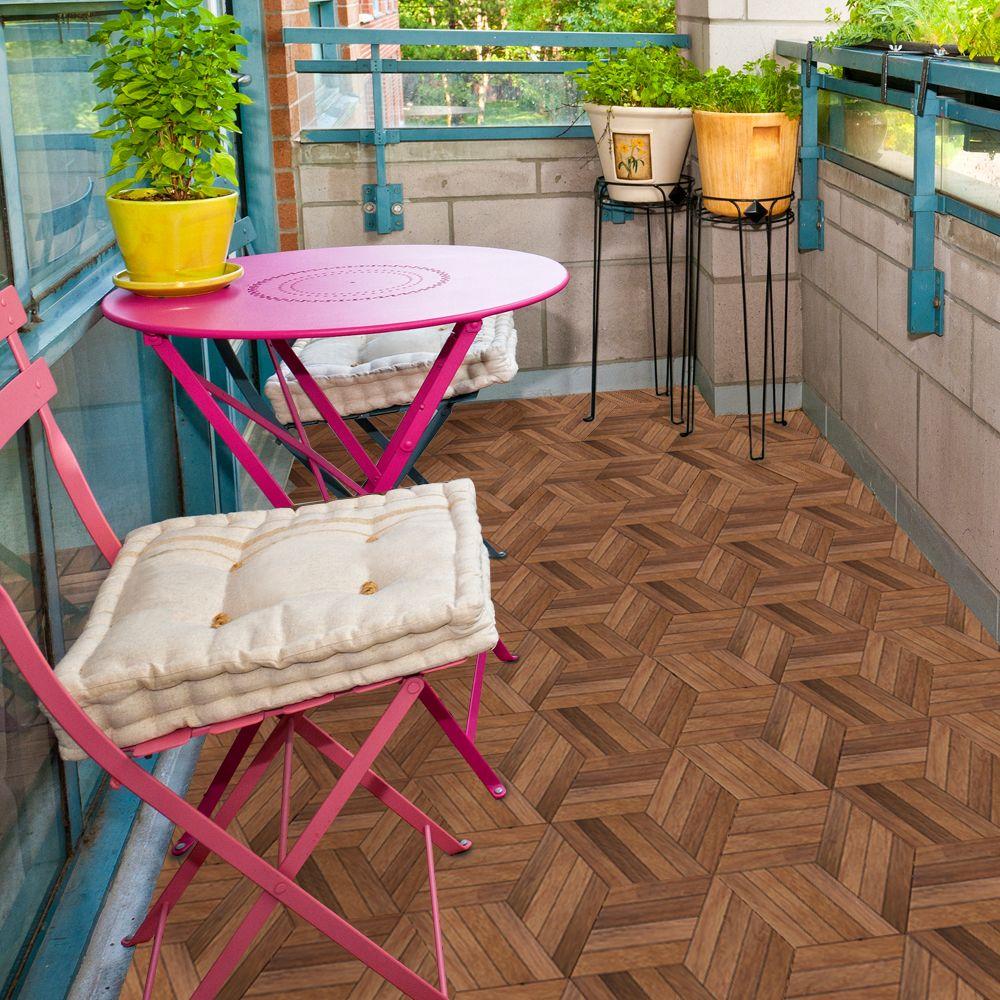 Floor sticker with images waterproof wood floor wall