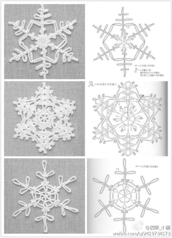 20130102185758_d4XQy … | Crochet snowflakes | Pinterest ...