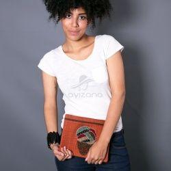 Pochette Turban Girl by Ayizana