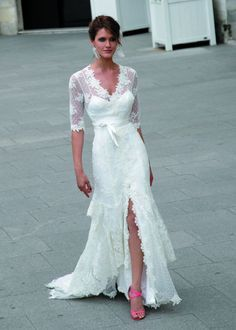 Lovely Second Wedding Dresses For Older Brides   (****I Really Like This One****)