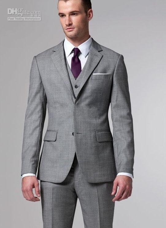 Mens Gray Suits In Weddings - Ocodea.com