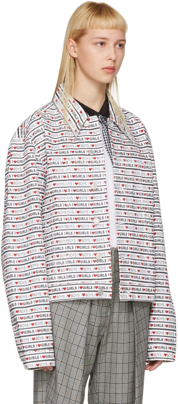 Jacket Western Girls' Denim Ashley Williams 'Boys White K1cTFJl