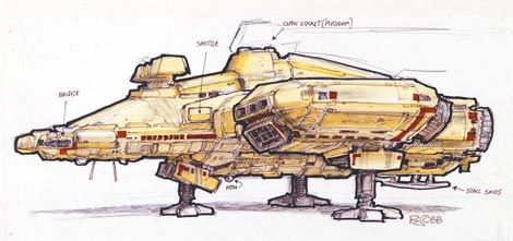 Image result for nostromo ship concepts