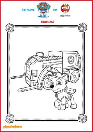 Coloriages La Pat Patrouille Puzzle Activite With Images Paw Patrol Coloring Pages Paw Patrol Coloring Paw Patrol