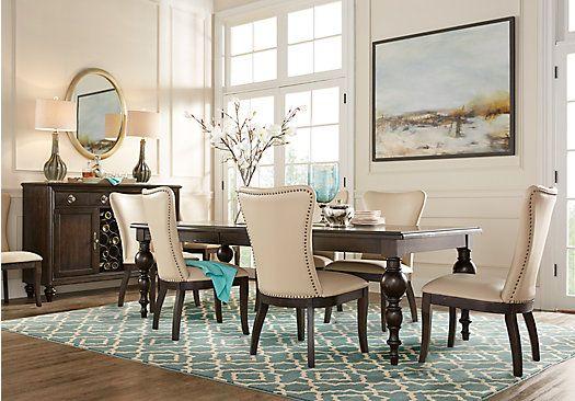westerleigh oak 5 pc dining room find affordable dining room sets for your home that. Black Bedroom Furniture Sets. Home Design Ideas