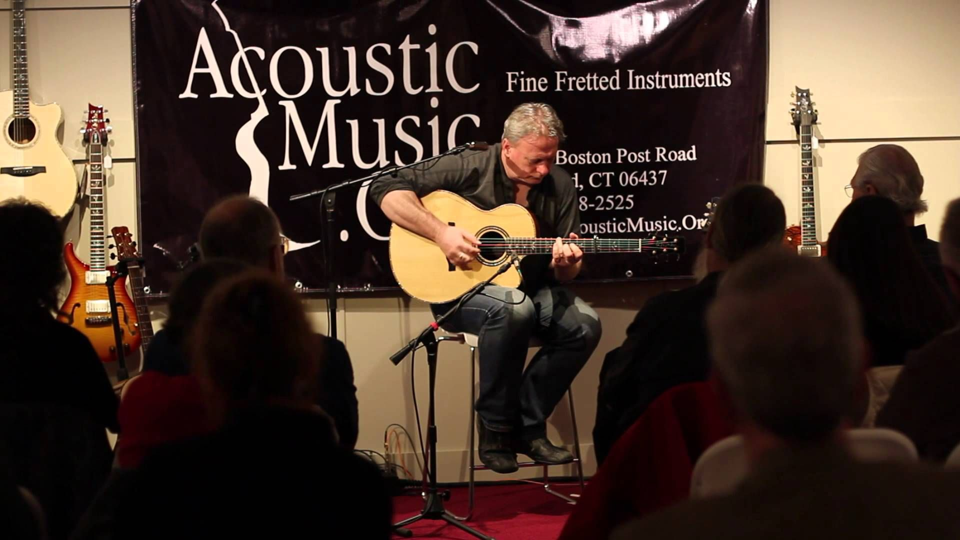 Tony McManus - Live from AcousticMusic.Org   PART 1