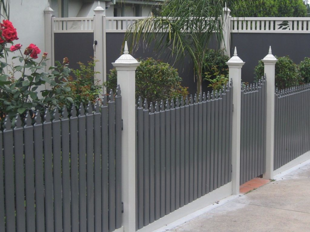 Colonial Picket Fence Fence Designs Including Balustrade